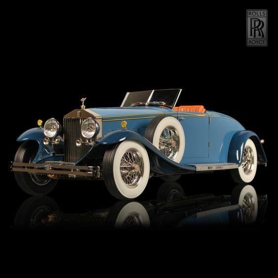 1933 Rolls-Royce Phantom II Henley Roadster , another SAWEET! one.***Research for possible future project.