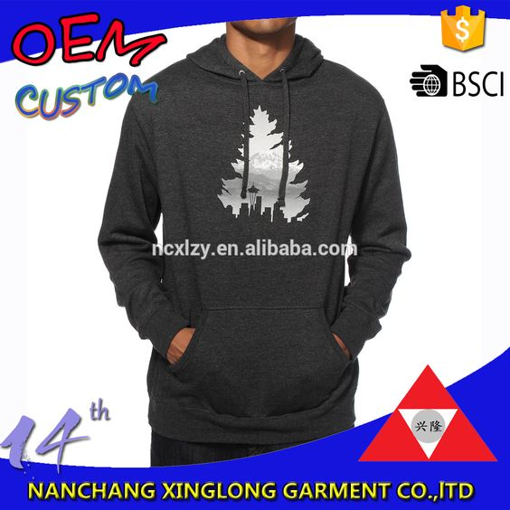 Check out this product on Alibaba.com APP Men chest screen print adjustable drawstring hoodie free sample