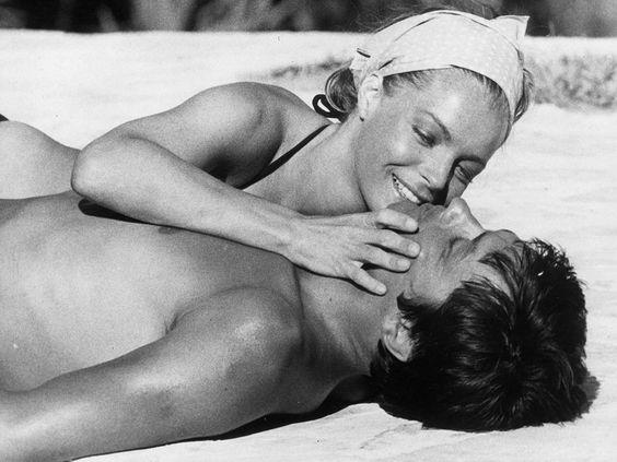 Alain Delon and Romy Schneider, 'La Piscine', 1968