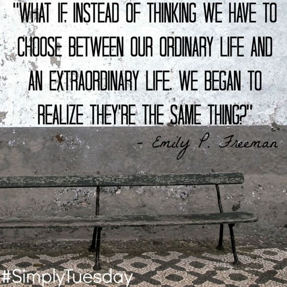 Quotable from Emily Freeman #SimplyTuesday: