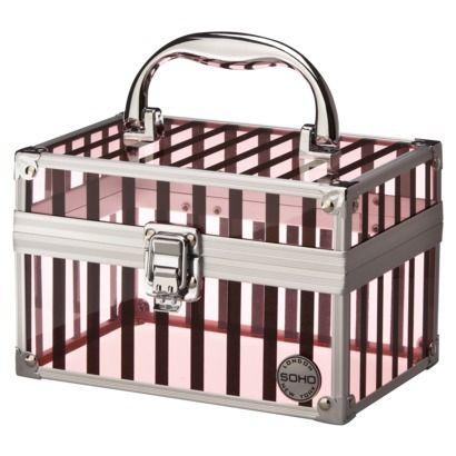 SOHO Pretty In Pink Small Beauty Case