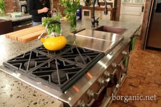 """Saw this on an episode of """"B.Organic"""" on Create TV this morning, I LOVE this kitchen!!!"""