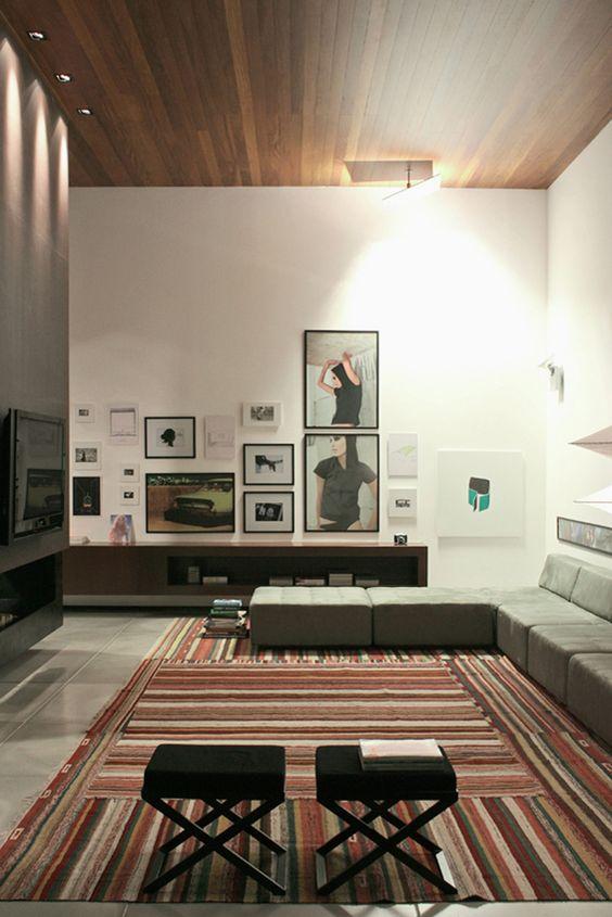 FF House / Studio GT – Guilherme Torres #living #lighting #detail