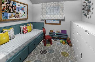 Small Flat - modern - Kids - Other Metro - Zaci Studio