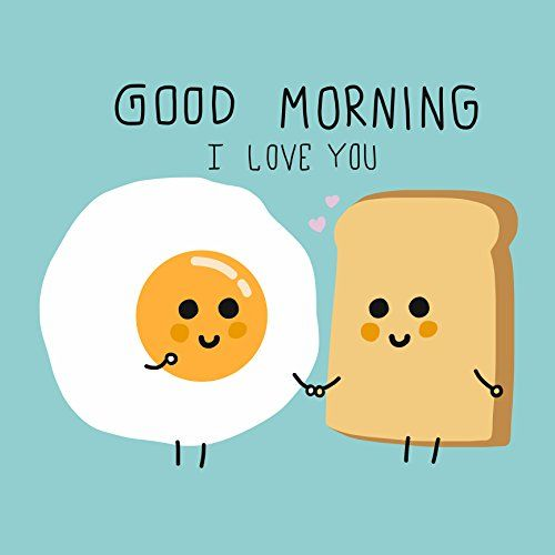 Good Morning I Love You Breakfast Egg And Toast Emoji Icon Vinyl Sticker 12 Tall Shinobi Sti In 2020 Good Morning My Love Good Morning Good Morning Beautiful Quotes