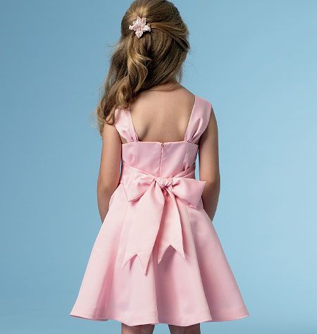 B5980, Children's/Girls' Dress: