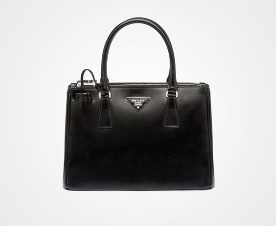 prada saffiano zip-around continental wallet - This is the Prada bag that I have been wanting forever! Black with ...