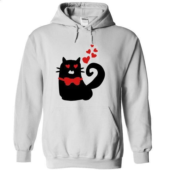 Love Cat - #shirt for girls #hoodie creepypasta. BUY NOW => https://www.sunfrog.com/Pets/Love-Cat-White-Hoodie.html?68278