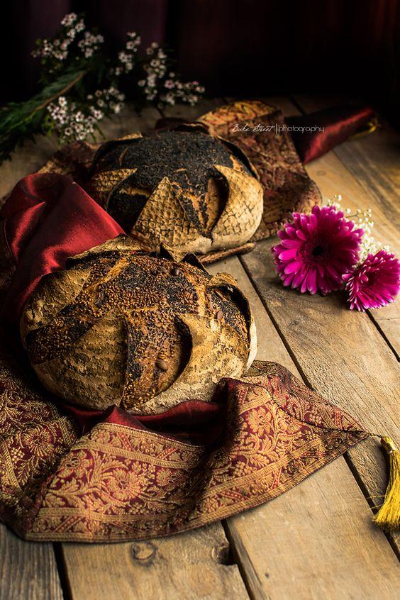 Pan de mostaza con pétalos y toffee Garam Masala for {Box of Spice} - Bake-Street.com