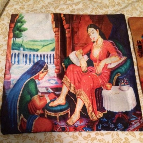 💯Auth Indian Pillow Cases from India Set of two. Pillow cases only. Other