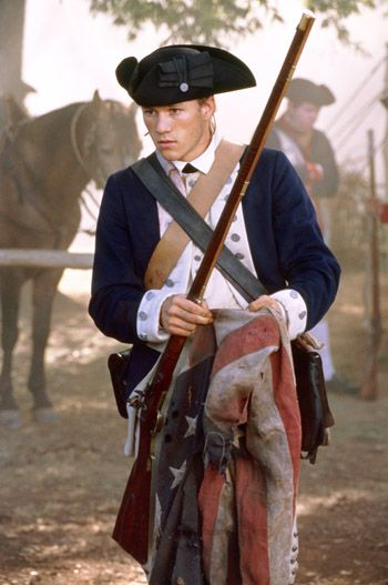 Gabriel (The Patriot) played by Heath Ledger.  Awesome character...By far my favorite in the movie...*Sniff*