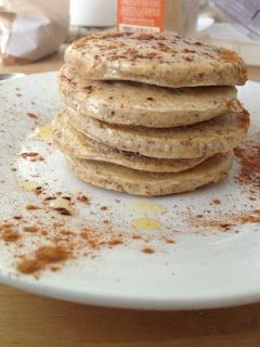 Cinnamon And Coconut Pancakes Recipe — Dishmaps
