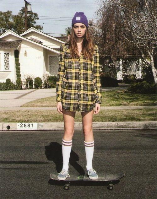 style skater dress 90s