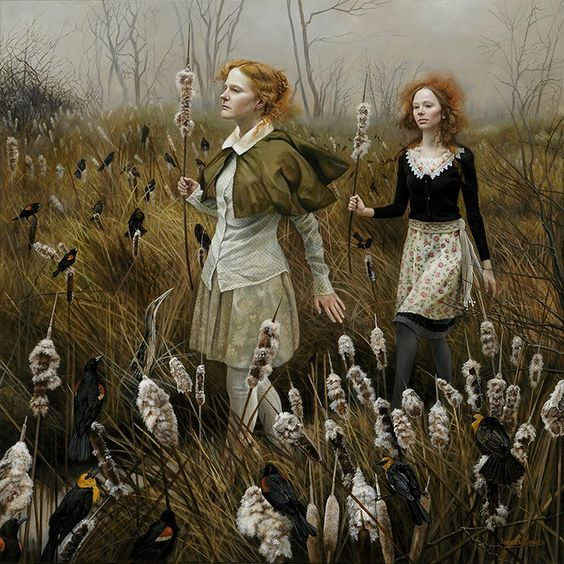 """Andrea Kowch - """"The Watch"""""""