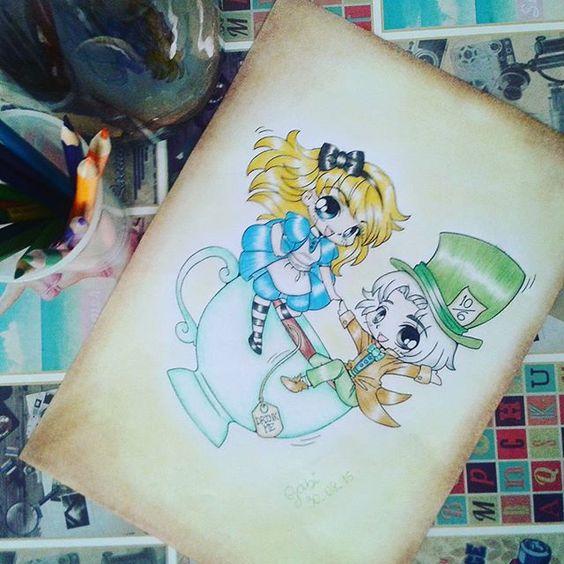 It's all in your head, Alice. ♠  #alice #aliceinwonderland #alicenopaisdasmaravilhas #chapeleiromaluco #disney #painting #paintingoftheday #coloring #coloringbook #coloringbooksforadults #colorindo #colorindolivrostop #colorindooinstagram #colorir #colorirlivros #livros #livrosinterativos #livrosdecolorir #livrosdecolorirparaadultos #livrosdecolorirantiestresse #enchantedforest #secretgarden #florestaencantada #jardimsecreto