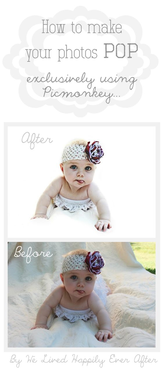 We Lived Happily Ever After: How to White Out Your Photos Exclusively Using Picmonkey