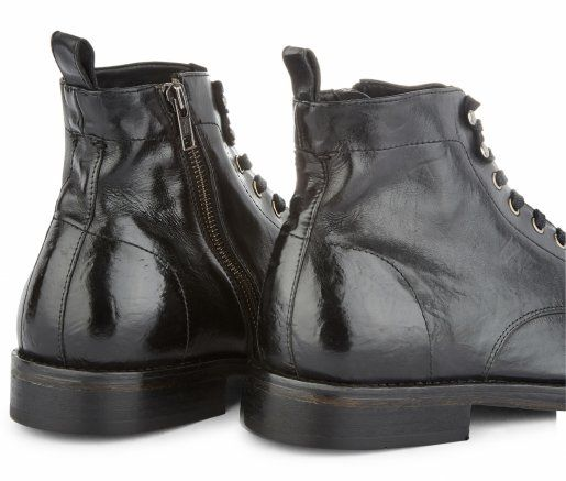 Rune Black Boot | Shoes in 2019 | Boots, Black boots, Calf