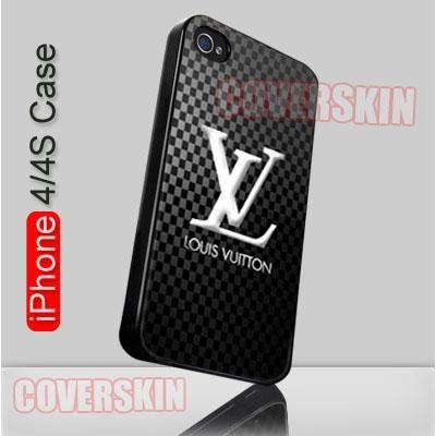 Louis Vuitton Logo LV iPhone 4 or 4S Case Cover - 1