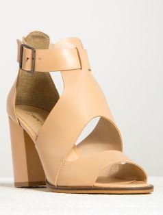 topuklu ayakkabı Reina Somon Topuklu Ayakkabı