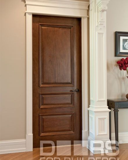 SOLID WOOD ENTRY DOORSDOORS FOR BUILDERS INC traditional