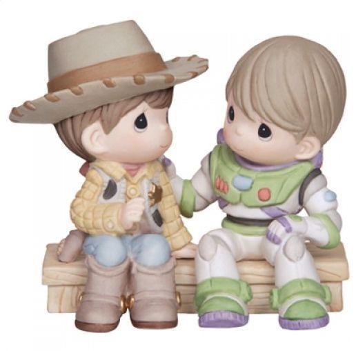 Precious Moments Disney Toy Story Woody & Buzz You Got A Friend New 2014 #134008
