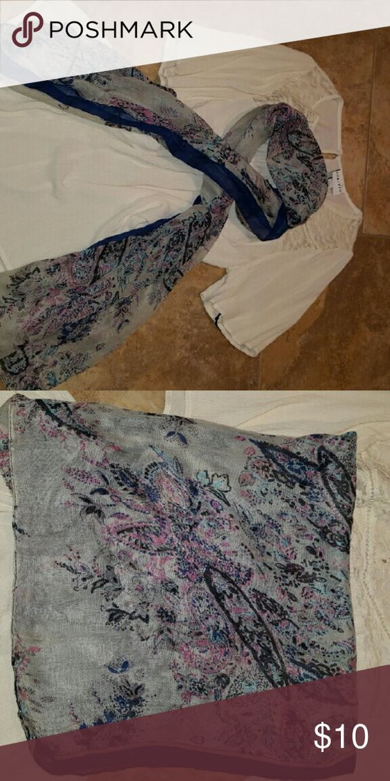 Scarf Lightweight and soft fashionable scarf. Lots of colors to match with your outfit. 100% polyester. New in packaging. Accessories Scarves & Wraps