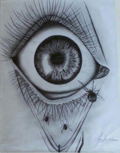 Draw eyes, Eye art and...