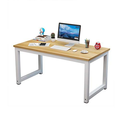 Amazon Com Modern Simple Style Computer Desk Home Desktop Desk Simple Students Desk With Multi In 2020 Home Office Furniture Desk Pc Desk Home Office Computer Desk