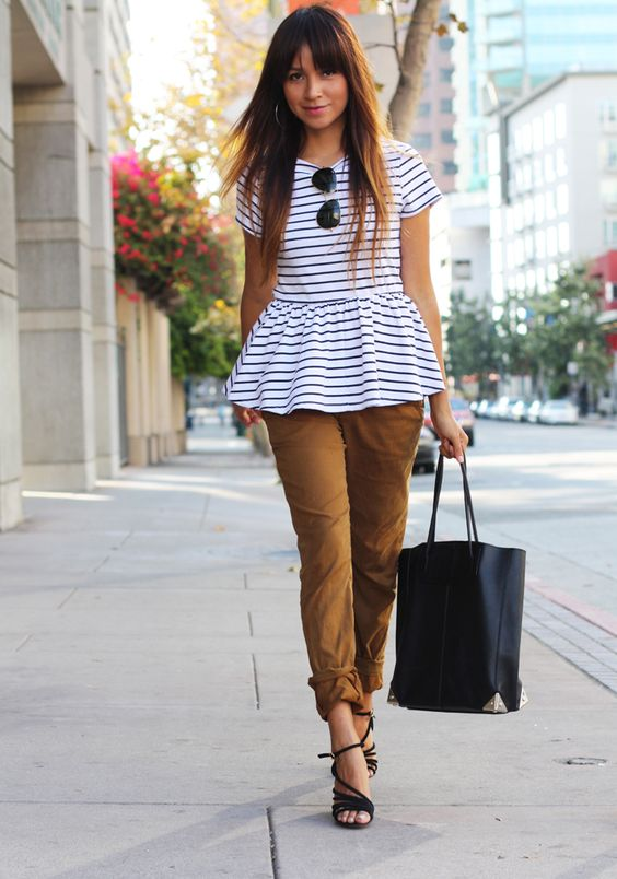 PEPLUM i love this new trend. How can i wear and combine it? 1.peplum t-shirts 2.peplum jackets 3. peplum dress 4. peplum skirt 5. peplum top with pencil skirt 6.peplum tops/jackets with belts: