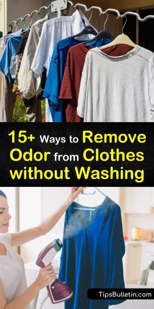 How To Get Rid Of Smell From Clothes Without Washing