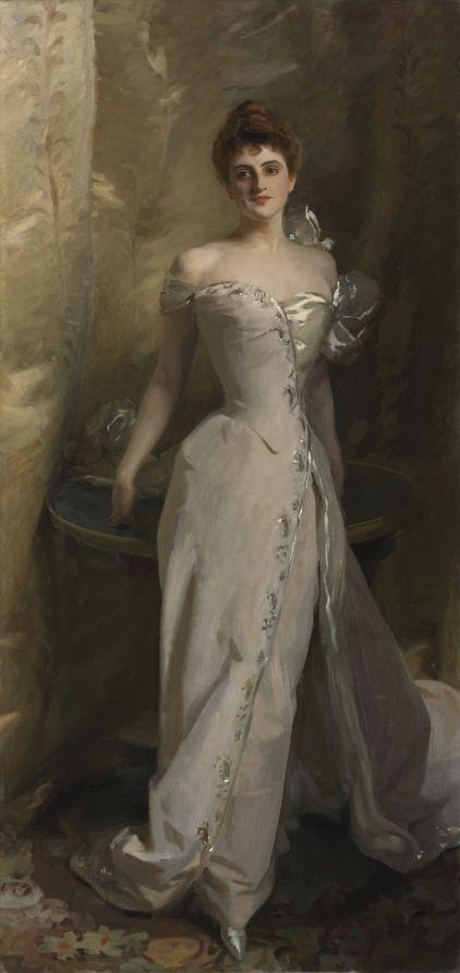 Portrait of Lisa Colt Curtis, 1898 John Singer Sargent (American, 1856-1925)