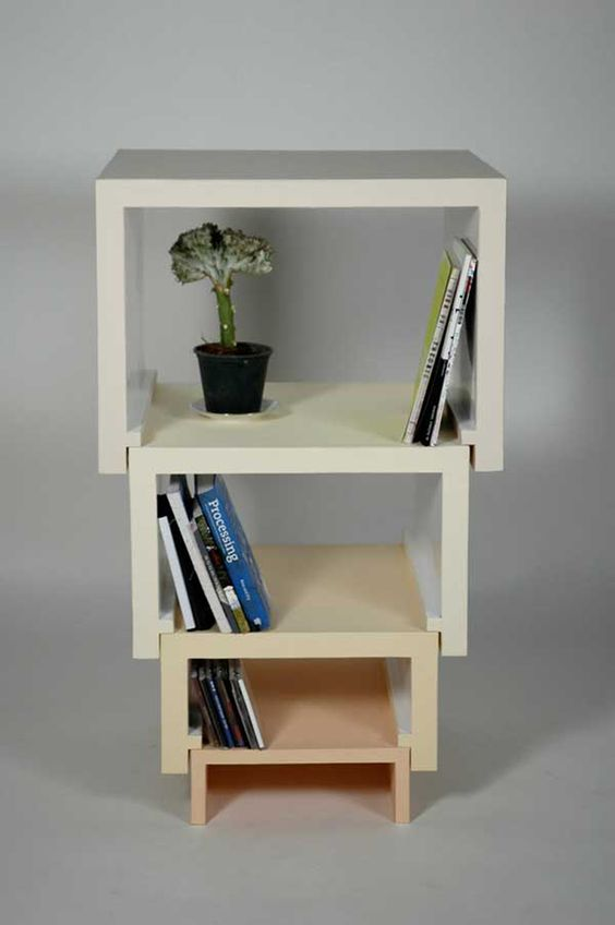 furniture idea. creative idea stacking nesting furniture by florian krutli_3 pinterest nest shelves and decorating s
