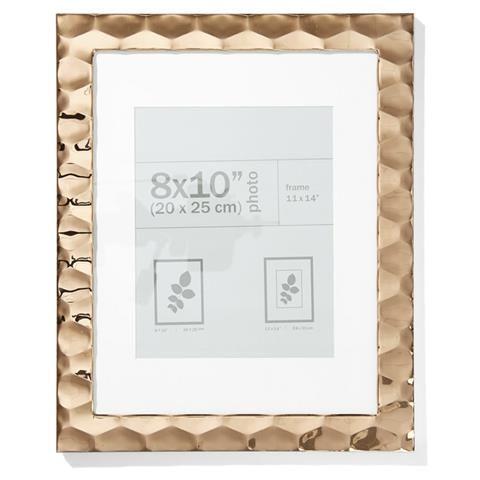 $16. Kmart. frame 8x10inch Copper Metal copper Frame