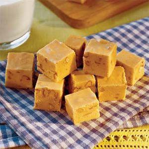Yes, please!  Pumpkin fudge.
