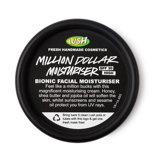 Lush Million Dollar Moisturizer:
