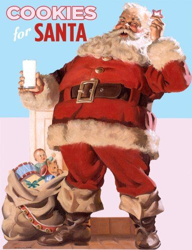 Cookies for Santa (Vintage cookbooks) by Benjamin Darling http://www.amazon.com/dp/1595833757/ref=cm_sw_r_pi_dp_i1X1ub105APE1