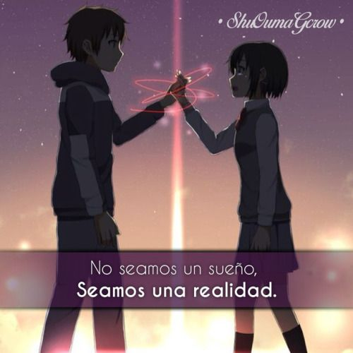 Anime Frases Anime Frases Sentimientos Shuoumagcrow Amor Con