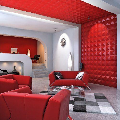 Contempo Living 3d Diamond Diamond 3d Wall Panel 27 Square Feet Pvc Wall Panels 3d Wall Panels White Paneling