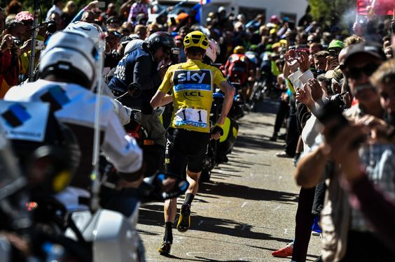 Run Froomey Run! Chris Froome tour de france 2016