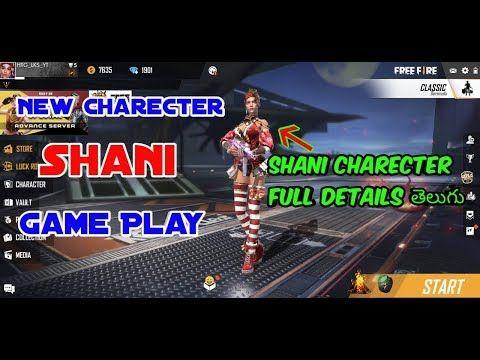 Free Fire Alok Character Free In Telugu Youtube Telugu Free Characters Gameplay