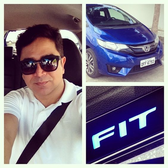"""Testando, curtindo, amando, aprovando e me viciando no novo Honda Fit. Uauuuuu que possante!!!!! #HondaFit #FitHonda #salvejorge"" Photo taken by @paulogermano_pg on Instagram, pinned via the InstaPin iOS App! http://www.instapinapp.com (06/13/2014)"