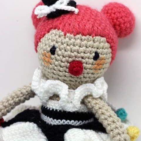 Aguardem que vem novidades por ai! ❤ ----- Encomendas:  capitaganchocroche@hotmail.com ✈ Enviamos para todo o Brasil ----- #croche #crochetaddict #moderncrochet #artesanato #semprecirculo #brinquedos #feitoamao  #ganchillo #crochet #craftastherapy #heklanje #crochetdoll #munheca #handmade  #design #yarnaddict  #pink #circus #clown #fun #criançafeliz  #crianças  #crochetofinstagram  #amigurumi  #happy  #happykid #kidsrooms  #design  #kidsroom  #decoração  #quartinhodebebe