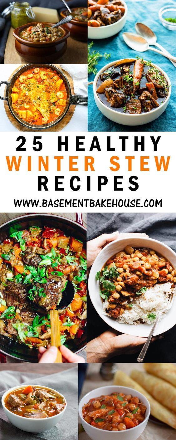 25 Healthy Winter Stew Recipes - Basement Bakehouse