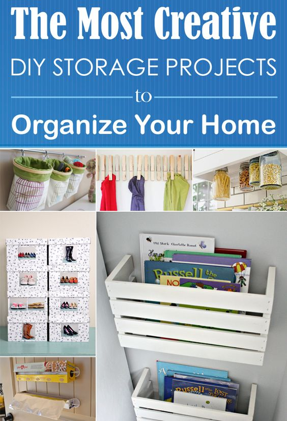 The most creative diy storage projects to organize your The most organized home