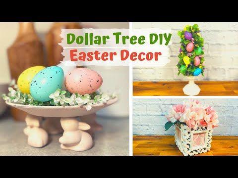 Dollar Tree Diy Dollar Tree Easter 2020 Diy Farmhouse Decor Diy Easter Decor Youtube Diy Easter Decorations Easter Dollar Tree Diy Easter Diy