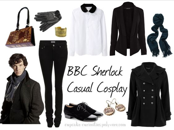 BBC Sherlock Casual Cosplay - Hm I have a coat that actually works for this