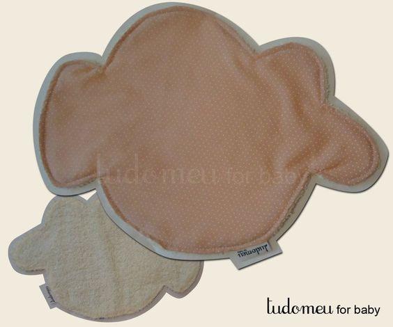 """toalhas de boca nuvem - meninA, coleção """"nas nuvens"""" facebook.com/lojazukka"""