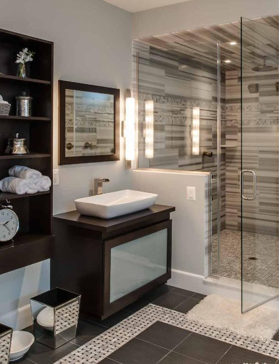 Pinterest the world s catalog of ideas for Modern guest bathroom ideas