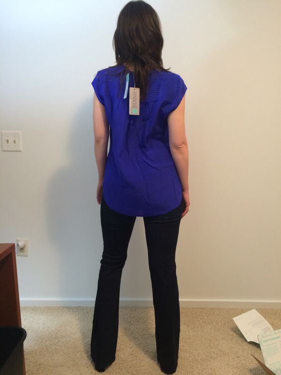 This is from my first StitchFix box--the top and jeans are great.