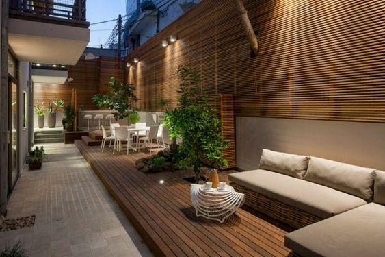 foco madera techo empotrada exterior - Buscar con Google